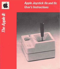 Apple Joystick IIe and IIc User's Instructions