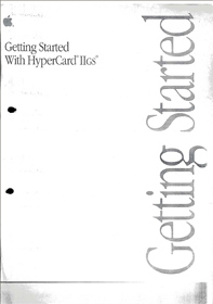 Getting Started With Hypercard IIgs